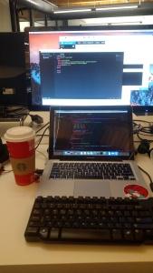 One spilled coffee + one MacBook = ruined keyboard